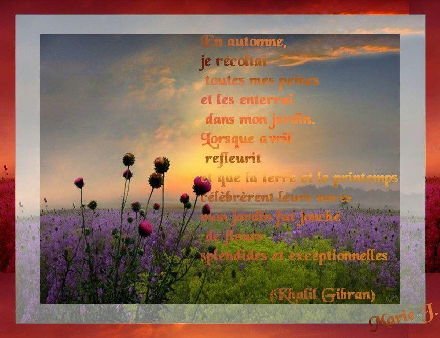 Citation D Automne